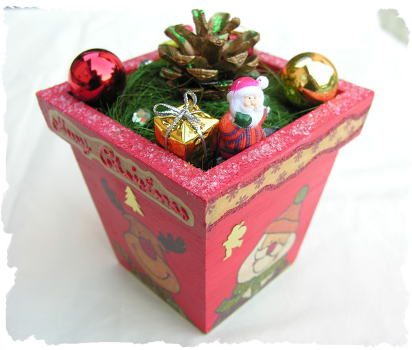 Objet de décoration méthode serviette : Noël 1